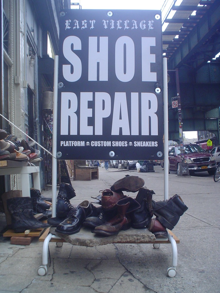 East Village Shoe Repair Bushwick